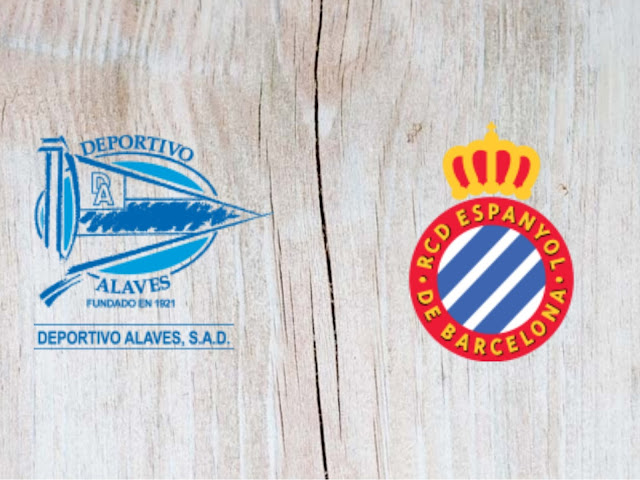 Deportivo Alaves vs Espanyol - Highlights 02 September 2018