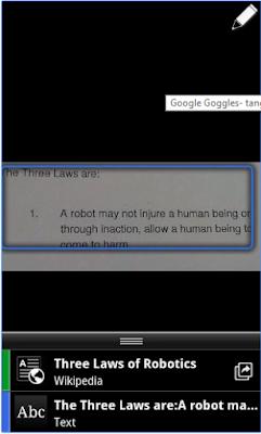 google goggles