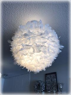 Tee kotiisi näyttävä höyhenlamppu helposti