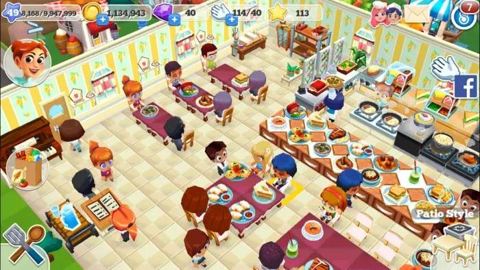 Restaurant Story 2, game memasak online di Android
