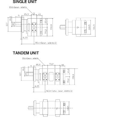 Kích thước SAP50-50 lắp cho cẩu Soosan 3 tấn