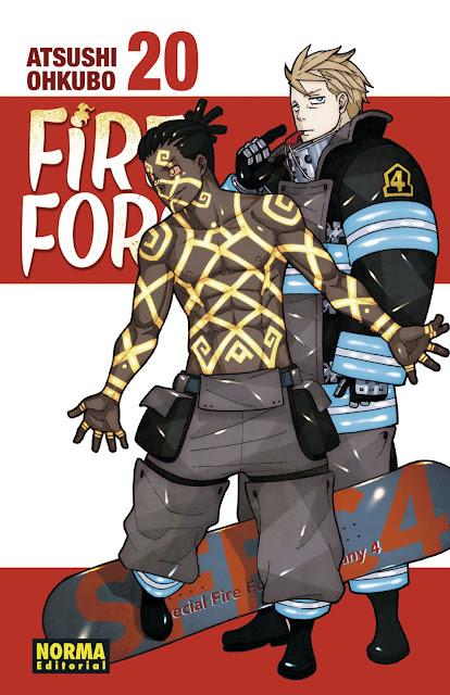 Reseña de Fire Force (En no Shōbōtai) vol. 20 de Atsushi Ohkubo - Norma Editorial