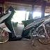 Modifikasi Motor Vario Thailook Style
