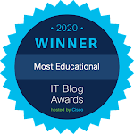 Cisco IT Blog 2020 award Winner !