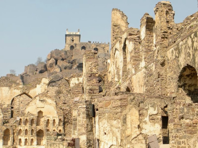 Hyderabad points of interest: Golconda Fort