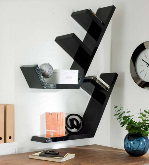 DIY STYLISH WALL SHELVES FOR INTERIOR HOME DESIGN