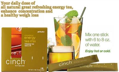 Cinch Tea Mix, Independent SHAKLEE Distributor, Info, Kongsi, Pengedar Shaklee Kuantan, Produk SHAKLEE,