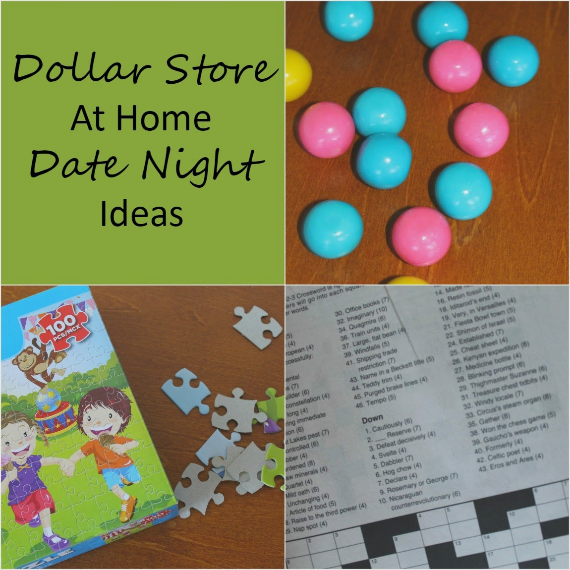My New Lines Dollar Store At Home Date Night Ideas