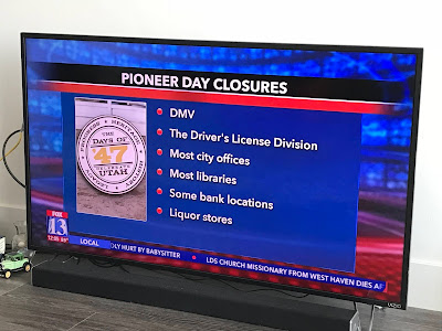 What's closed on Pioneer Day?