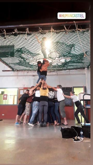Katalonia, castells, human castels, wieże z ludzi, sport, ciekawostki o Katalonii, trening