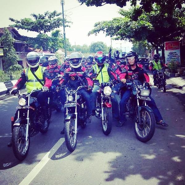 touring Komunitas RX King Jogja IMPERIAL KING JOGJAKARTA