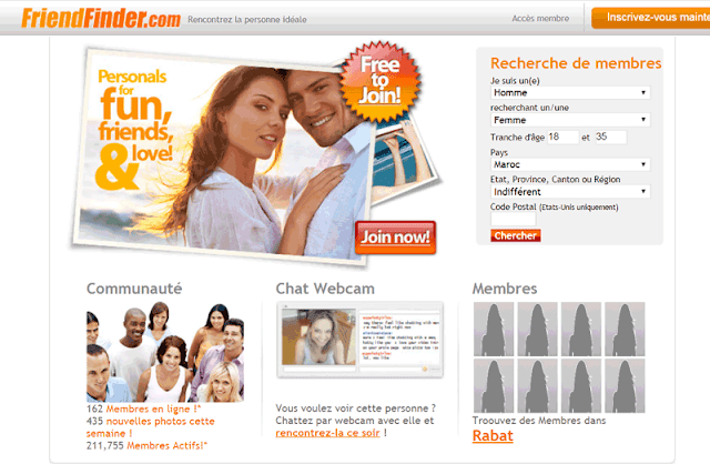 موقع friendfinder للتعارف والزواج