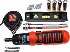 Black & Decker AS600P-KR Power & Hand Tool Kit worth Rs.2000 for Rs.790 Only @ Flipkart