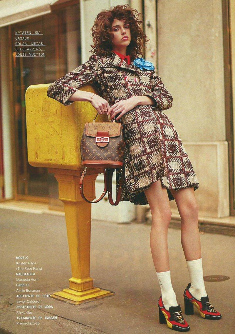Editorial de Moda da Louis Vuitton para o inverno 2020