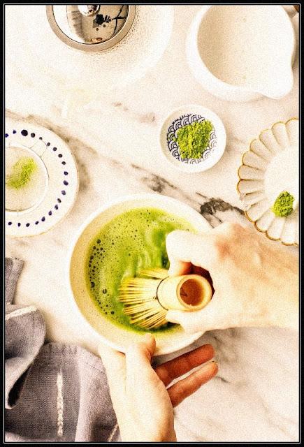 شاي الماتشا   إضافة لقائمة المشروبات الصحية في مقهاك