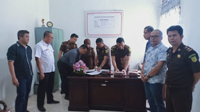 Tiga Tersangka Ditetapkan Dalam Korupsi Pembangunan RTH Silago