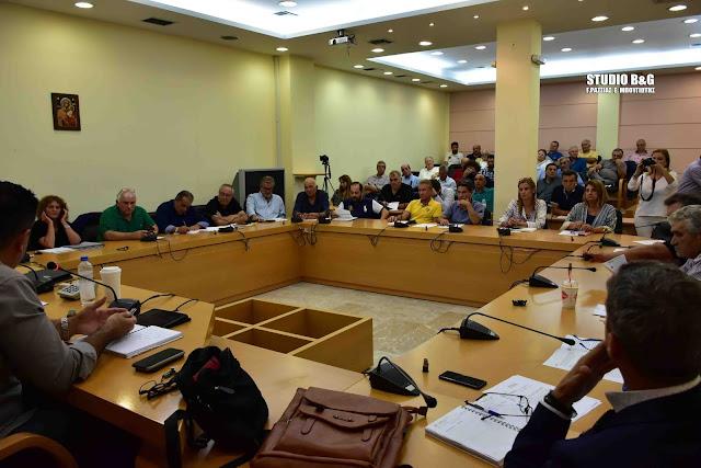 Με έξι θέματα συνεδριάζει το Δημοτικό Συμβούλιο στο Ναύπλιο