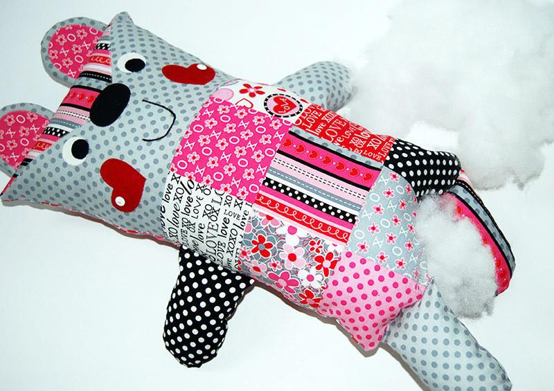 Candy Cutie Patchwork Softie Tutorial