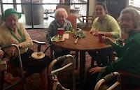 Catholic's Key Club Celebrates St. Patrick's Day at Wesley Gardens in Montgomery 4