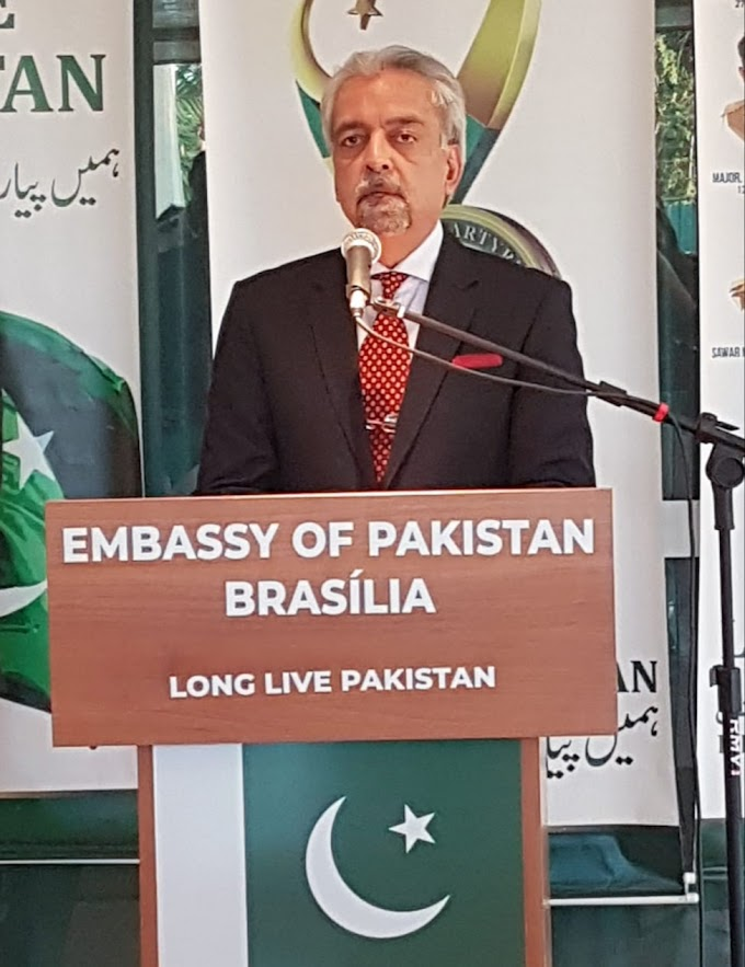 Internacional:  Pakistan Defence Day and Kashmir Solidarity Day observed in Brazil