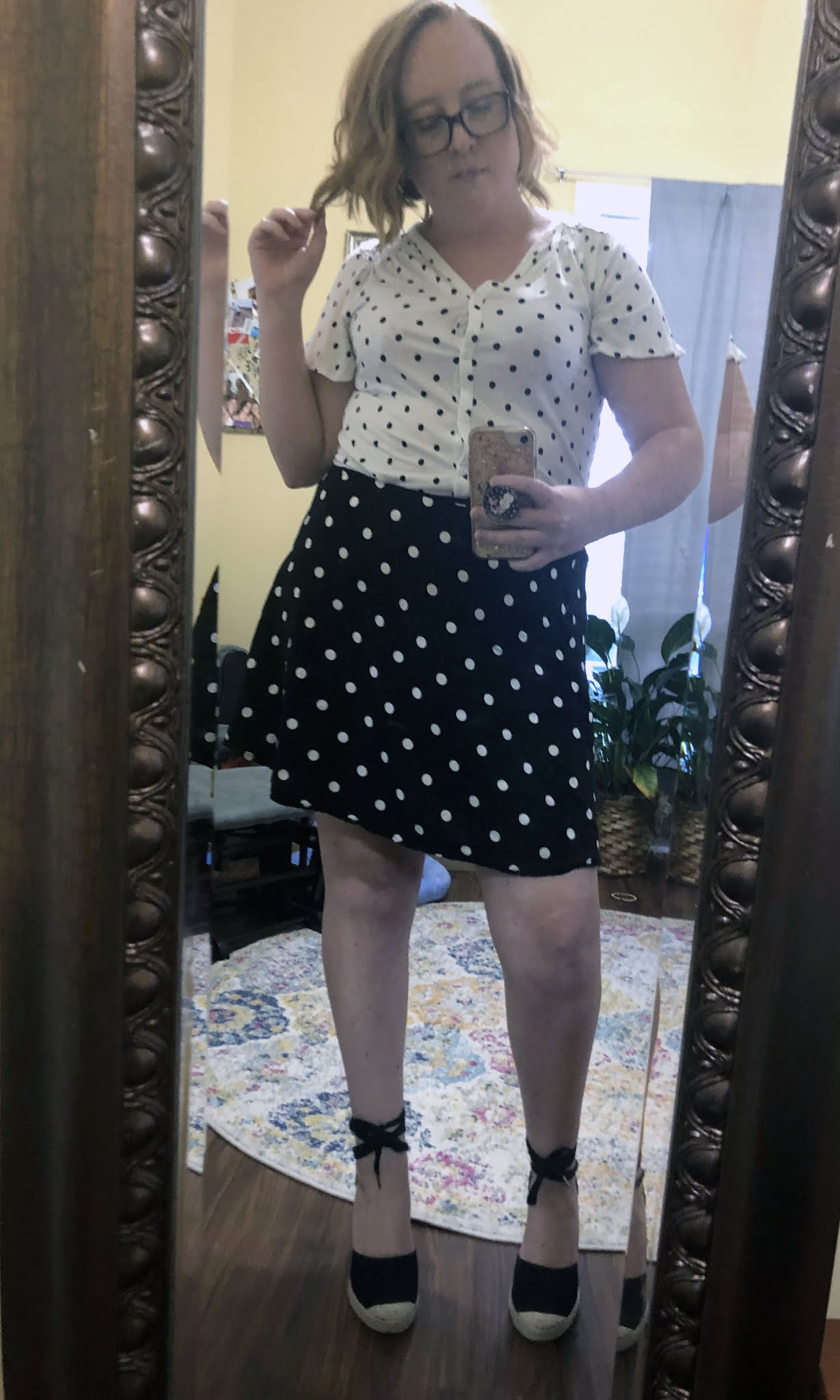 polka dots times two