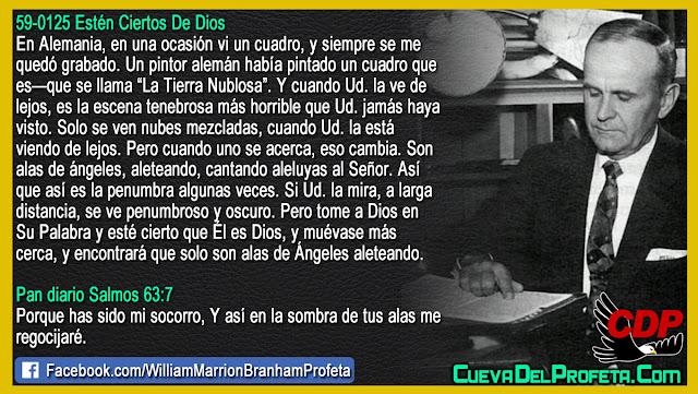 Alas de Ángeles aleteando - William Branham en Español