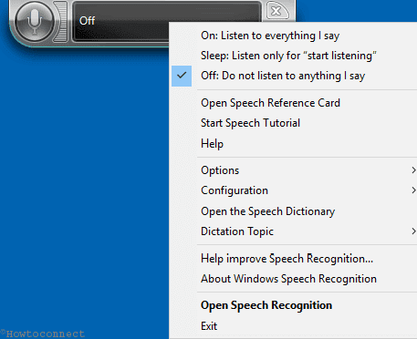 Ways To Organize Speech Recognition in Windows 10