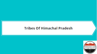 Tribes Of Himachal Pradesh
