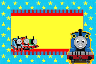 Thomas the Train Free Printable Invitations Oh My Fiesta in english