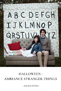 decoration hallowween theme stranger things blog un jour mon prince viendra