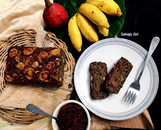 Fresh figs & banana bread