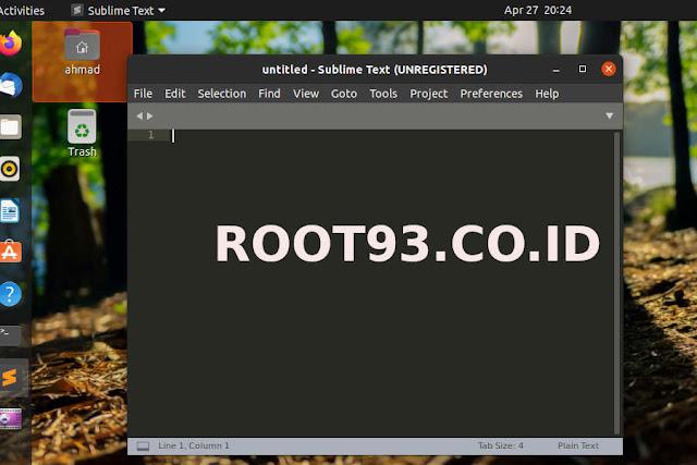 Instal Sublime Text di Linux Ubuntu