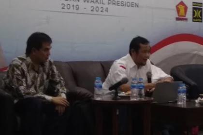 Untuk Menutupi Kecurangan, Juga Dibuat Kesalahan Entry Yang Untungkan Prabowo-Sandi