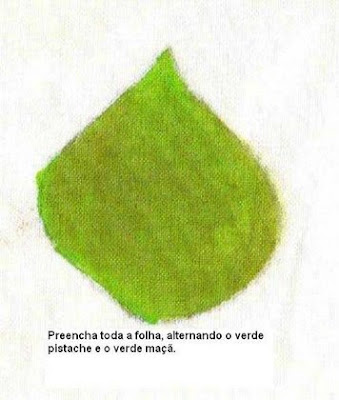 pintura em tecido folha passo a passo