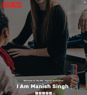 Manish Singh - Digital Innovation