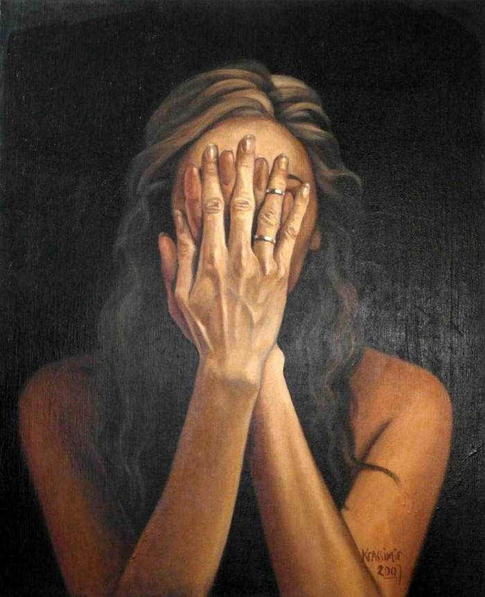 Абстрактно-реалистичные картины. Krassimir Kolev 13