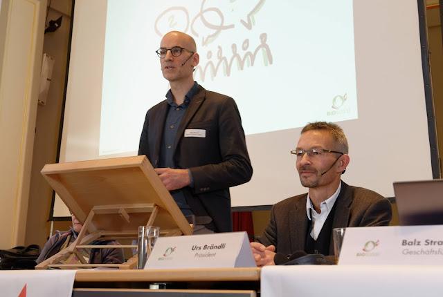 «Jeder Einkauf ist ein Stimmzettel» Bio Suisse Präsident Urs Brändli zur Pestizid- und Trinkwasser-Initiative