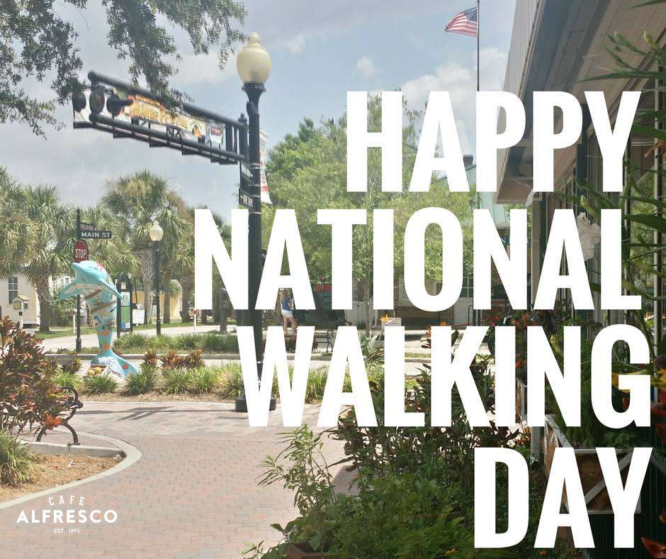 National Walking Day Wishes Images download