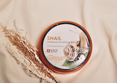 SNP Snail Intensive Soothing Gel 2020 NEW