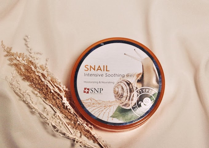 Review: Wajah Baru SNP Snail Intensive Soothing Gel