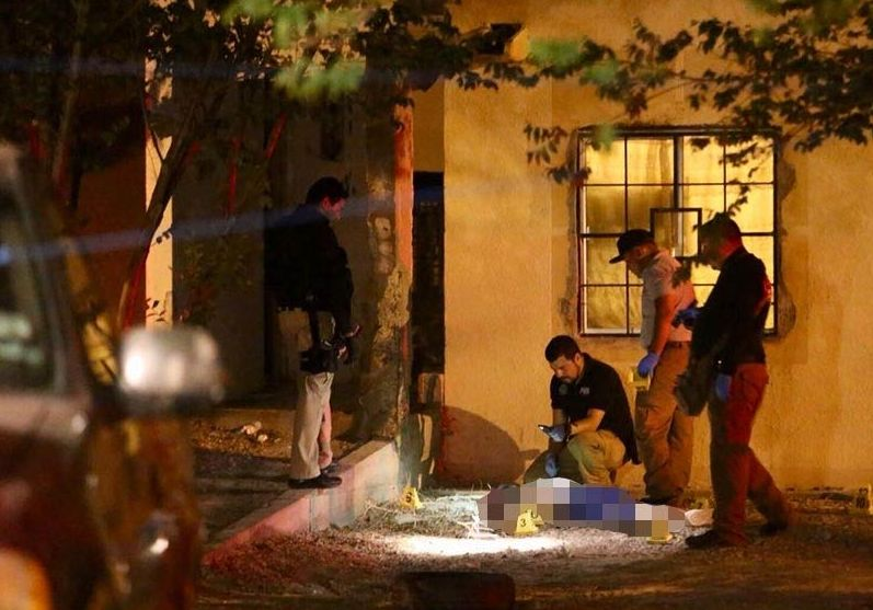 Acribillan a dos personas en Ciudad Juarez