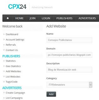 Cómo usar CPX24
