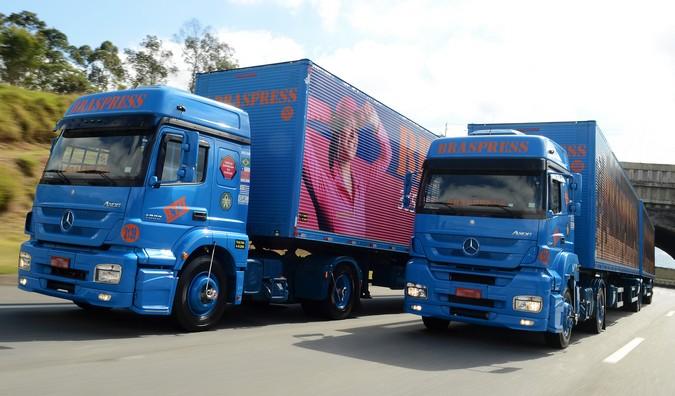 Braspress abre vagas para motoristas carreteiros com salário médio de R$ 6 mil