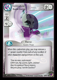 My Little Pony Coloratura, Razzle Dazzle Marks in Time CCG Card