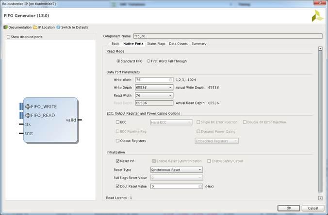FPGA Garage Projects: FPGA GR Low Latency FIFO Read Operation