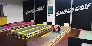 Savage Golf in Norwich. Photo by Christopher Gottfried, 8th December 2019