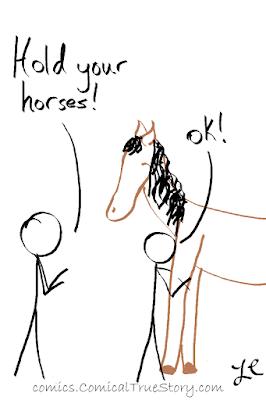 Ok (hugging horse)