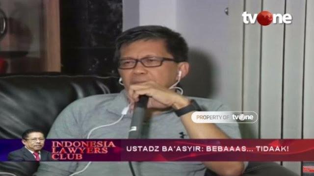 Tambal Elektabilitas, Rocky Gerung: Maruf Amin Nggak Cukup, Didatangkanlah Baasyir