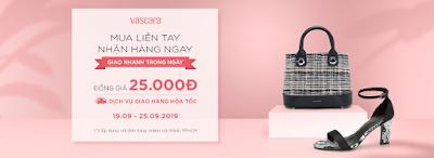 Thời trang May Mặc giới thiệu Các Mẫu Giầy, Balo, Túi Xách Sale Off 50% tại Vascara