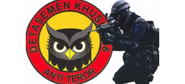 Densus 88 Tangkap Terduga Teroris di Padang dan Bukittinggi